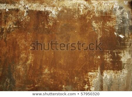 scrap metal corroded surface stock photo © stevanovicigor