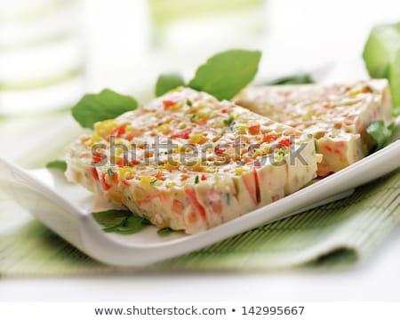 aperitivo · vegetales · Navidad · vacaciones · creativa · saludable - foto stock © m-studio