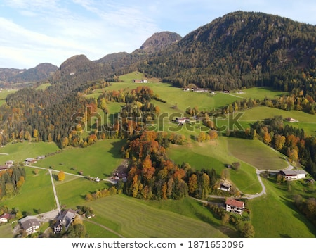 альпийский · долины · Австрия · небе · лес · пейзаж - Сток-фото © capturelight