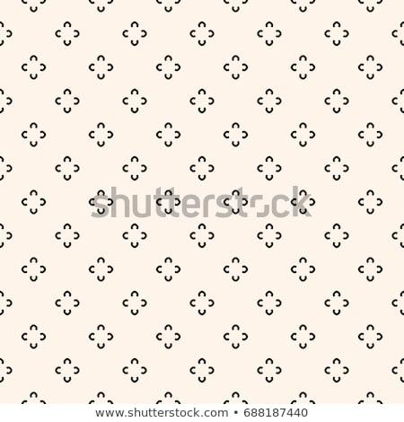 Bonitinho mínimo teste padrão de flor textura fundo tecido Foto stock © SArts