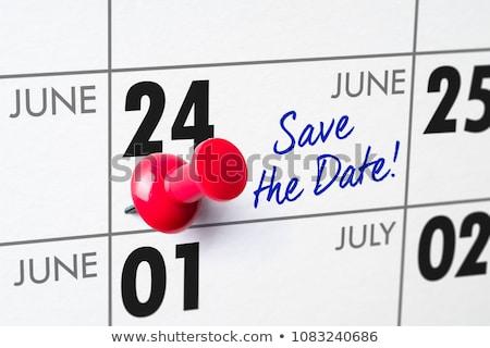 data · calendário · amarelo · nosso · papel · tempo - foto stock © zerbor
