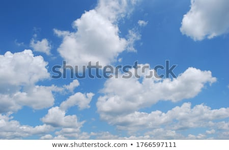 Witte wolk blauwe hemel natuur Stockfoto © njnightsky