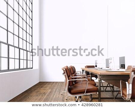 3D · modern · üzlet · előcsarnok · terv · belső - stock fotó © tashatuvango