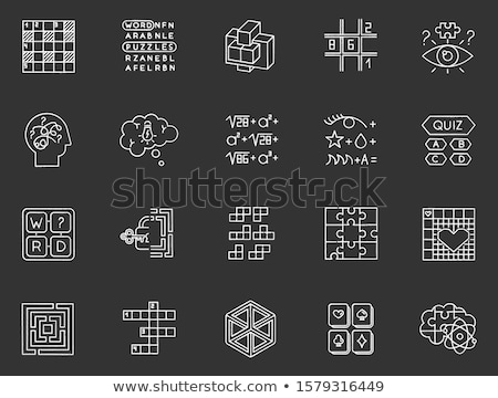Problem Solving Concept. Doodle Icons on Chalkboard. Stock photo © tashatuvango