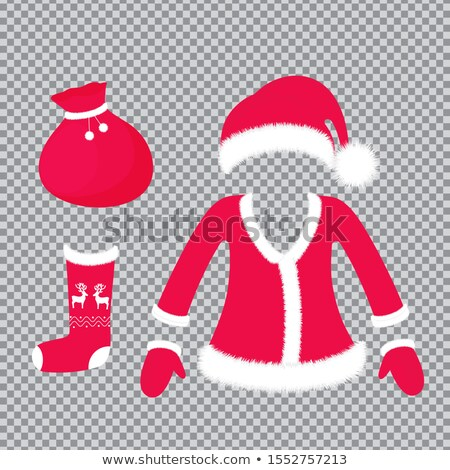 Photo stock: Costume · robe · Noël · chapeau