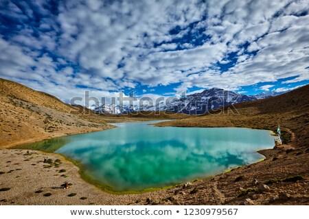 Lago himalaya montagna valle panorama montagna Foto d'archivio © dmitry_rukhlenko