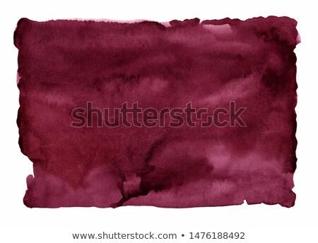 Wine on a burgundy background Stock photo © Givaga