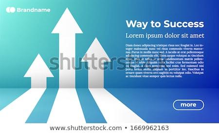 Winst poster grafische promo munt Stockfoto © robuart