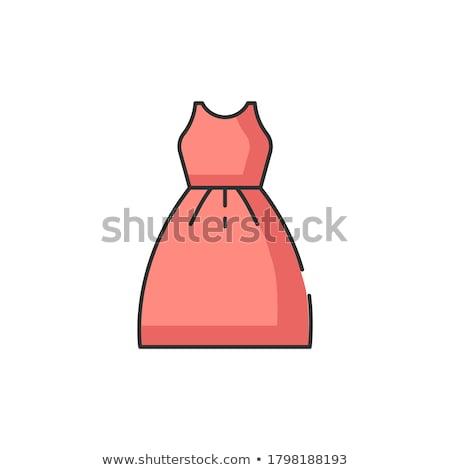 Elegante vrouwen cocktail prom Rood jurken Stockfoto © MarySan