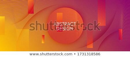 Optical technology concept landing page. Stock photo © RAStudio
