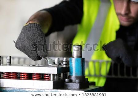 Using wrench Stock photo © pressmaster