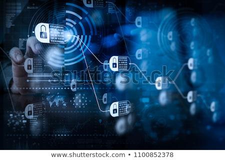Blockchain Code Stock photo © limbi007