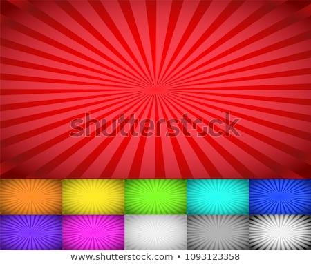 Wider Gradation sunburst background set Stock photo © Blue_daemon