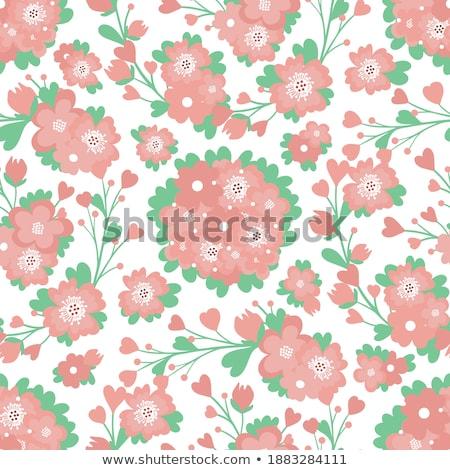 güller · poster · başlık · şerit · başlık - stok fotoğraf © robuart