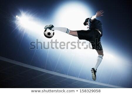 Mid Air Kick Stock photo © visualdestination