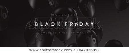 zniżka · 25 · duży · sprzedaży · black · friday - zdjęcia stock © robuart