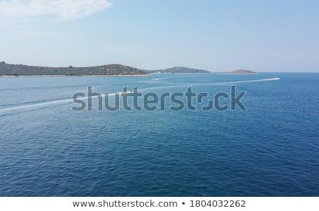 Stad antenne kustlijn centraal regio Stockfoto © xbrchx