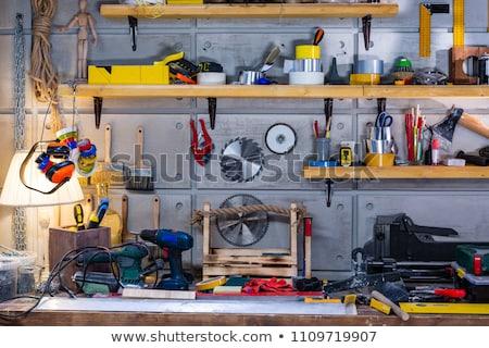 необходимо инструменты красный карандашом сложенный Сток-фото © pressmaster