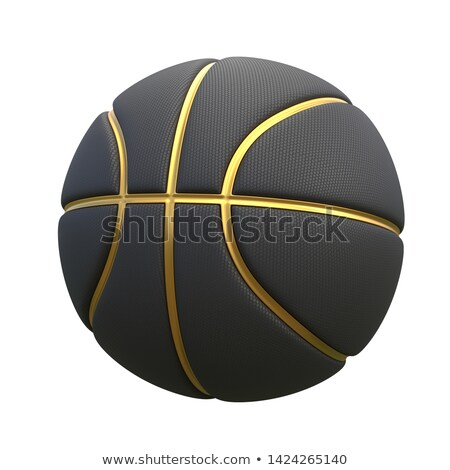 白 金 バスケットボール コンセプト トリム ストックフォト © albund