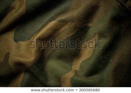 Wojskowych kamuflaż armii tkaniny tekstury projektu Zdjęcia stock © SArts