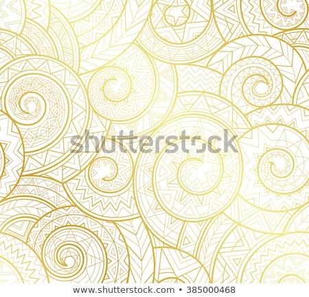 Gold snail Stock photo © blackmoon979