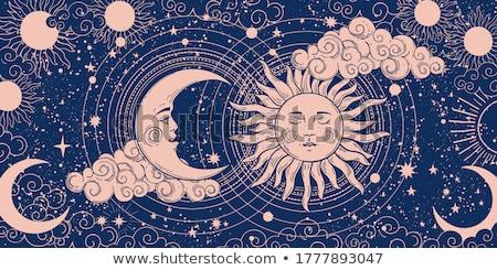 zodíaco · signos · ilustración · fuego · signo · pintura - foto stock © njaj