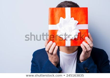 well dressed man covering his face with his hands stock photo © photography33