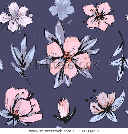 zárva · fehér · virágok · tavasz · bokor · virág · levél - stock fotó © agorohov