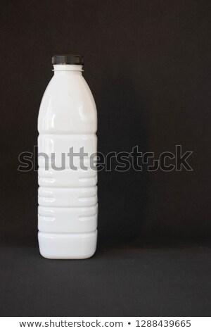 bianco · plastica · bottiglia · isolato · etichetta · 3D - foto d'archivio © Sylverarts