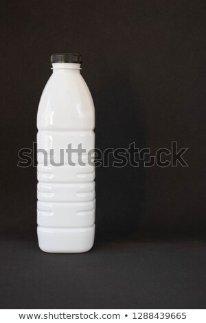 White opaque plastic bottle. Stock photo © Sylverarts