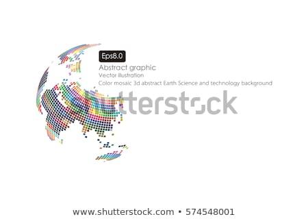 dynamique · 3D · monde · monde · affaires · mer - photo stock © fenton