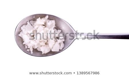 Salt Flakes Background Stock photo © eldadcarin
