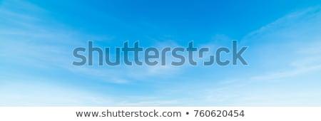 Blau schönen Himmel weiß Wolken Ansicht Stock foto © lunamarina