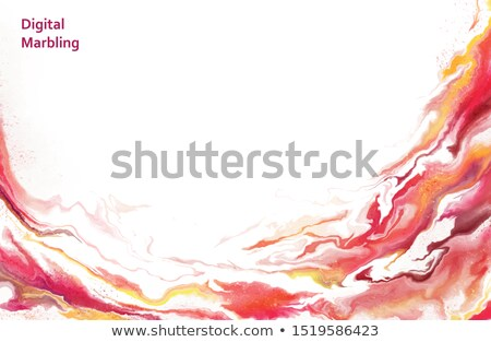 Stock photo: Color digital fume pattern