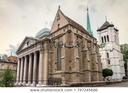 st pierre cathedral in geneva Stock photo © mariephoto
