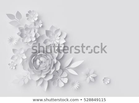 paper origami flower stock photo © elmiko