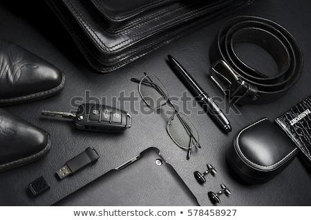 классический бизнесмен гардероб бизнеса текстуры древесины Сток-фото © prg0383