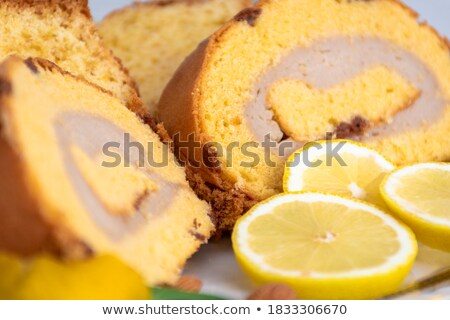 brazo de gitano, spanish swiss roll Stock photo © nito