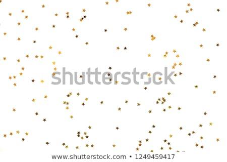 Közelkép konfetti fehér buli boldog születésnap Stock fotó © djemphoto