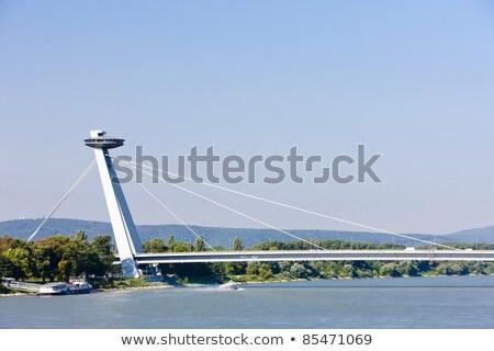 Yeni köprü Bratislava Slovakya Bina şehir Stok fotoğraf © phbcz