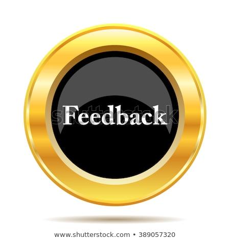 Help Gold Vector Icon Button Stock photo © rizwanali3d