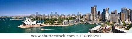 cais · Sydney · porto · ponte · atrás - foto stock © lucielang
