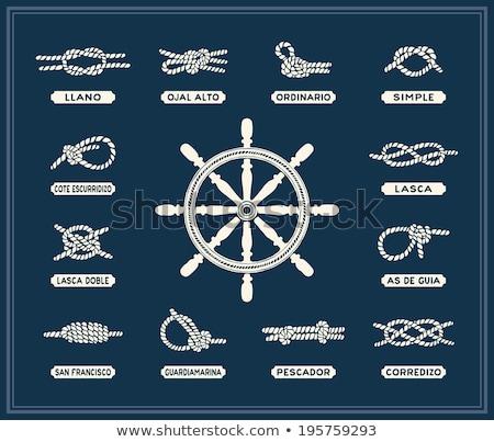 Marine knot Stock photo © yelenayemchuk