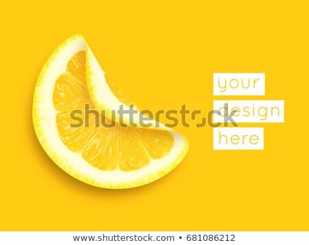 vector · citroenen · meer · abstract · achtergronden · bezoeken - stockfoto © blumer1979