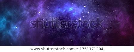 Ciel nuages étoiles résumé bleu clair vecteur Photo stock © ESSL