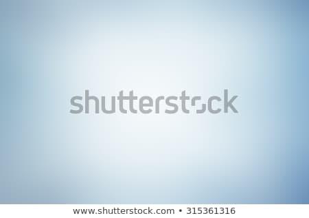 Azul luz gradiente abstrato projeto onda Foto stock © karandaev