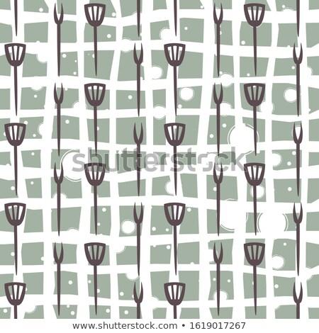 cutlery contemporary pattern illustration stock photo © cienpies