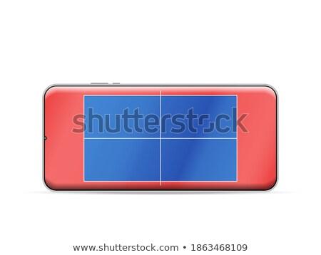 настольный теннис смартфон спортивных приложение области мяча Сток-фото © make