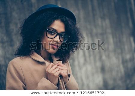 Portré káprázatos lány vonzó fiatal divat Stock fotó © Aikon