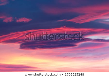 Kék ég égkép felhők drámai formák természet Stock fotó © lunamarina